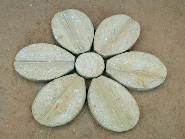 Fiore In Tufo 6 Petali