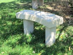 Yellow Wave Bench